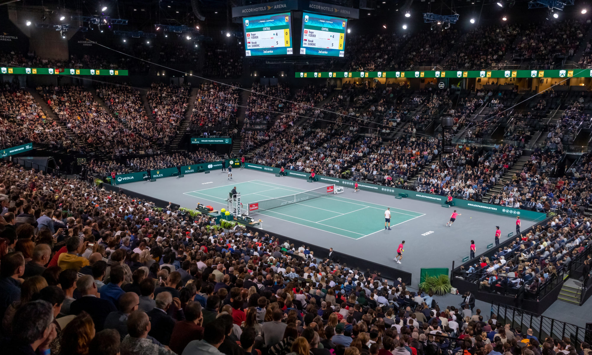 Rolex paris masters hospitality hospitalite corporate luxe entreprise master club accorhotels billetterie