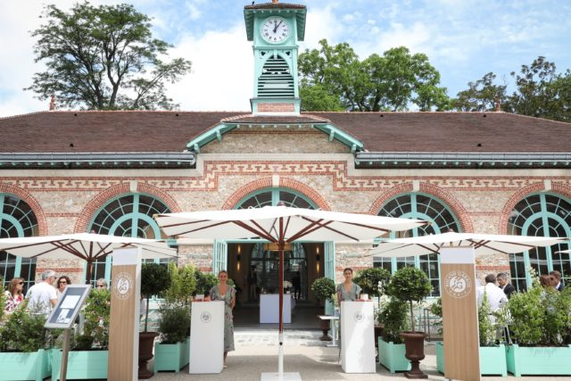 orangerie roland garros french open hospitality hospitalite corporate entreprise package diner