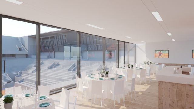 Club Platinum salon court central Roland Garros billeterie ticket package billets VIP offre entreprise