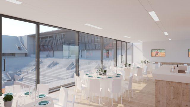 Club Platinum salon court central Roland Garros billeterie ticket package billets VIP offre entreprise